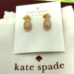 Kate spade pineapple earrings